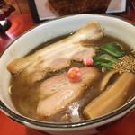 ラーメン考房 昭和呈 - ↑新飛魚正麺《塩》