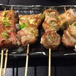 焼鳥 Ryoma - 肉巻きセット