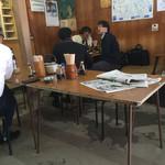 ふくみや食堂 - 店内をパシャ  平日の10時50分