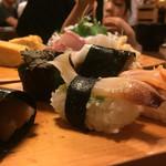 新中野まとい寿司 - 貝類追加、干瓢巻も食べなくちゃ(^-^)