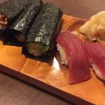 新中野まとい寿司 - 赤身鮪もカッパ巻きも食べなくちゃ(^-^)