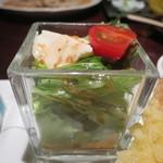 松玄 凛 - 豆腐サラダアップ