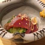 鮨処 つく田 - 鰹のタタキ