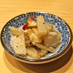 鮨処 つく田 - 筍と穴子の糠漬け