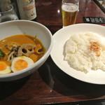 咖喱&カレーパン 天馬 - バターチキンカレー1