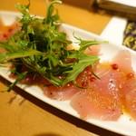 大阪モノラル - 本日の魚介の燻製カルパッチョ
