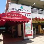 筑波山ケーブルカー 宮脇駅売店 - さて行きましょう