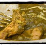 インド料理マラバル - チキンほうれんそう