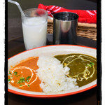 インド料理マラバル - ダブルカレーセット