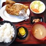 ひな鳥金子 - 料理写真:ひな鳥定食