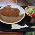 あらかわ食堂 - カツカレー750円