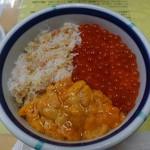 きくよ食堂 - 三種お好み丼ミニサイズ1,380円(税別)