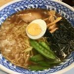 西湘パーキングエリア(下り線) スナックコーナー - 煮干ラーメン/ 580円