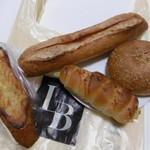 ルビアン - 料理写真:パン4種