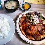 レストランふじ - 料理写真:焼肉定食