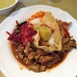 KING LION スリランカレストラン&バー - スリランカカレーランチプレート