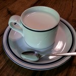茶房 天井棧敷 - 地元産ミルク