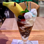マリンワールドレストラン レイリー - 料理写真:ドルフィンパフェ 680円