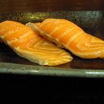虎寿司 - トッピングで玉ねぎとネギと塩が選択できます。
