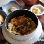 十国峠レストハウス - 釜めし定食