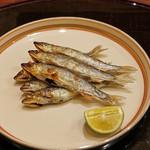 麻布 幸村 - 稚鮎の塩焼き