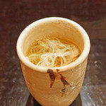 麻布 幸村 - お口直しのお蕎麦