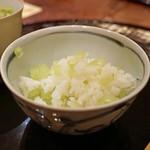 麻布 幸村 - 蕗ご飯