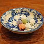 麻布 幸村 - 京都緑寿庵清水の金平糖