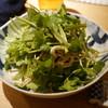botan - 料理写真:パクチー干豆腐サラダ650円。