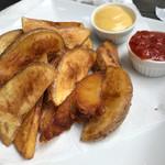 JAGBAR potato & hanburger -