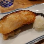 夜ノ焼魚 ちょーちょむすび - 銀ダラ味噌焼き1,350円。