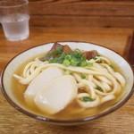 きしもと食堂 - 岸本そば小(500円)