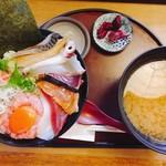 まるさ水産 - よくばり海鮮丼