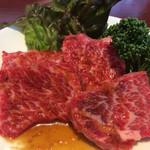 京城苑 - カイノミ  1580円   厚切りで食べごたえ十分