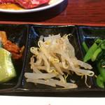 京城苑 - 定食の小鉢
