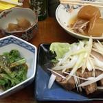 三四郎 - 料理が揃いました