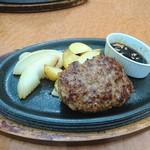 ブレッドバイキング サンマルク - 極上ハンバーグステーキ