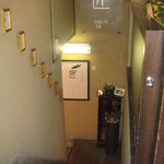 6668722 - 階段を降りると入り口です