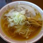 中華そば 琴の - 中華そば(平日限定太麺)あっさり700円