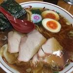 66681453 - ワンタン麺 味玉入り