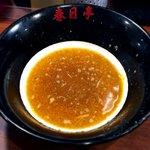 春日亭 - 割りスープ 2017.3.15