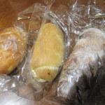 フリアンディーズ - パン三種