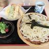 狐狸庵手打うどん - 料理写真:天ざる。920円