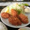 徳市 - 料理写真:牡蠣フライ定食
