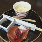湯沢釜蔵 - ランチの小鉢