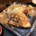 大衆食堂 山 - アグリ豚生姜焼き定食