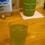 ごはん屋さくら - 水だし緑茶