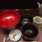 天ぷら ひさご - ご馳走様の完食です