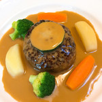 ボワサン - 料理写真:ハンバーグステーキ  H29.5