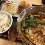 和麺 かきつばた - きしめん定食